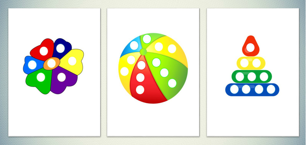 """Игра """"Разноцветные заплатки"""""""