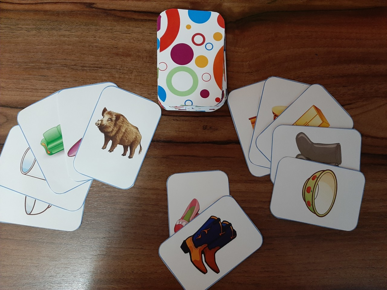 Использование предметных карточек в коррекционно-развивающей работе