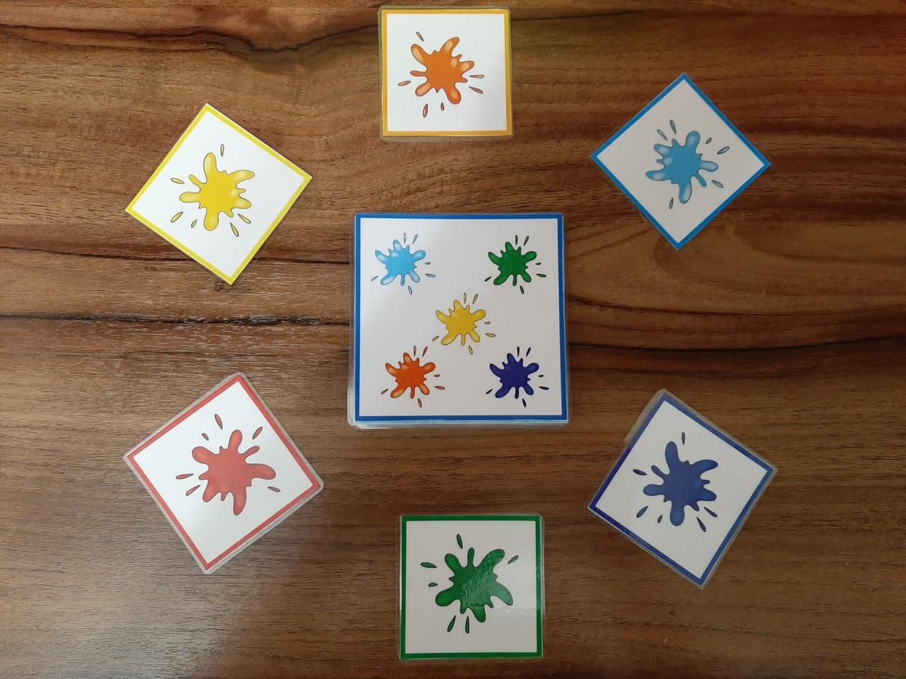 """Комплект дидактических игр """"Цветные кляксы"""""""