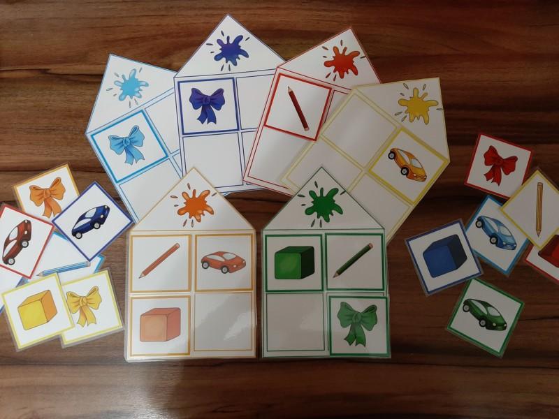Комплект дидактических игр «Цветные кляксы»
