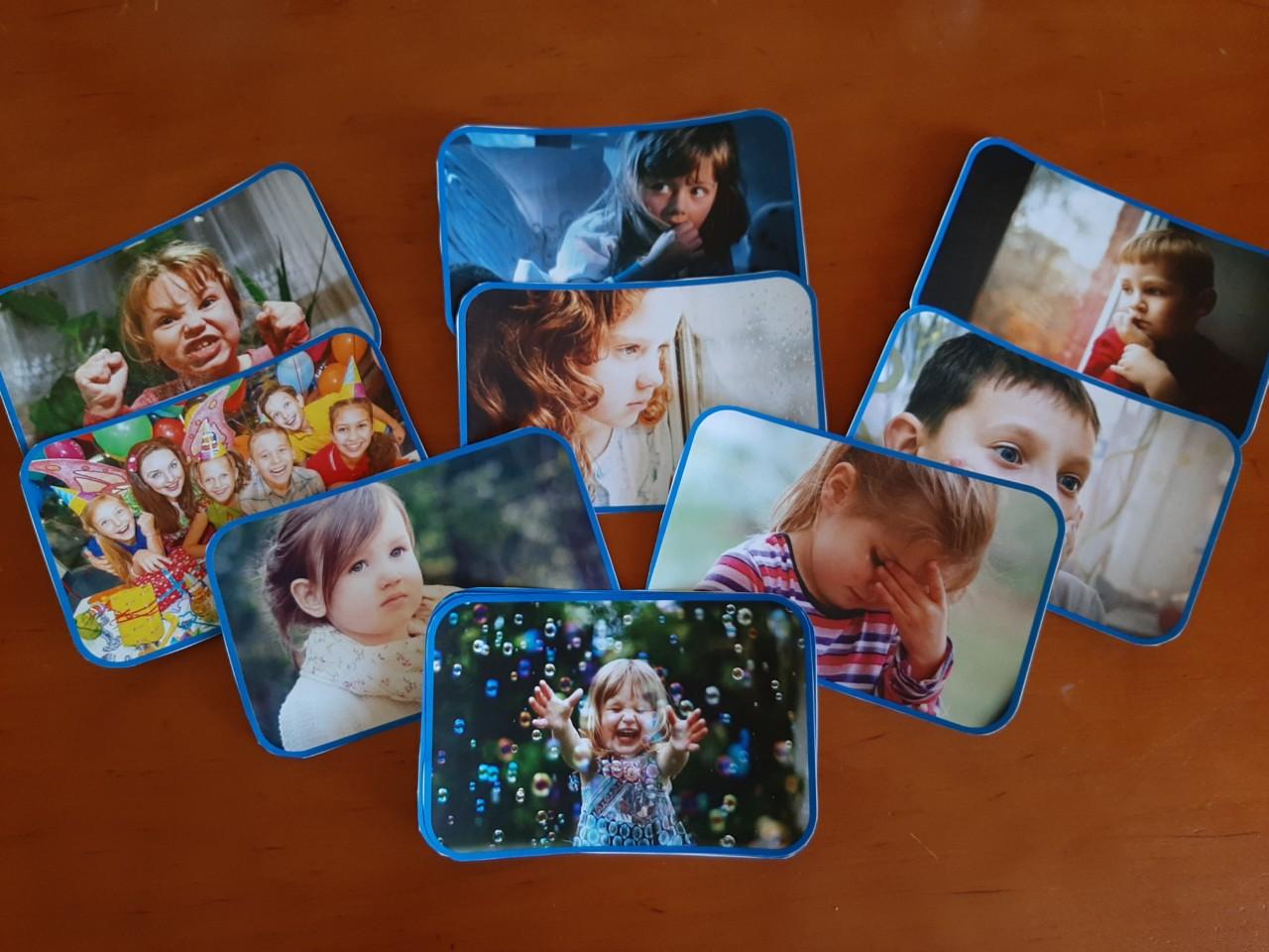 """Игры с карточками """"Эмоции"""""""