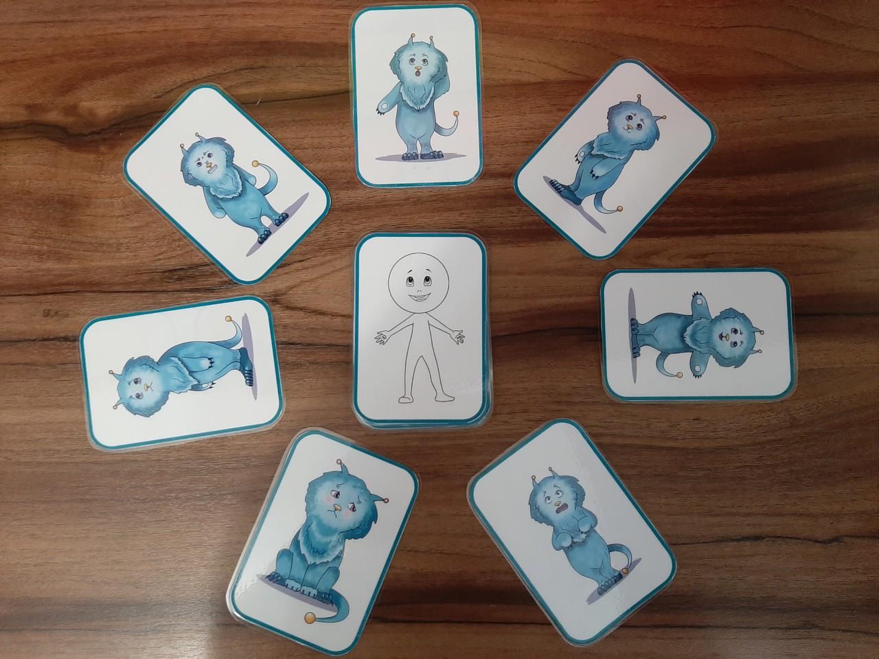 Дидактическая игра «Чувства в домиках»