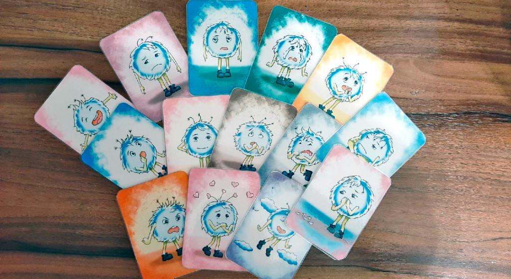 """Карточки для работы с детьми """"Умнясики в детском саду"""""""